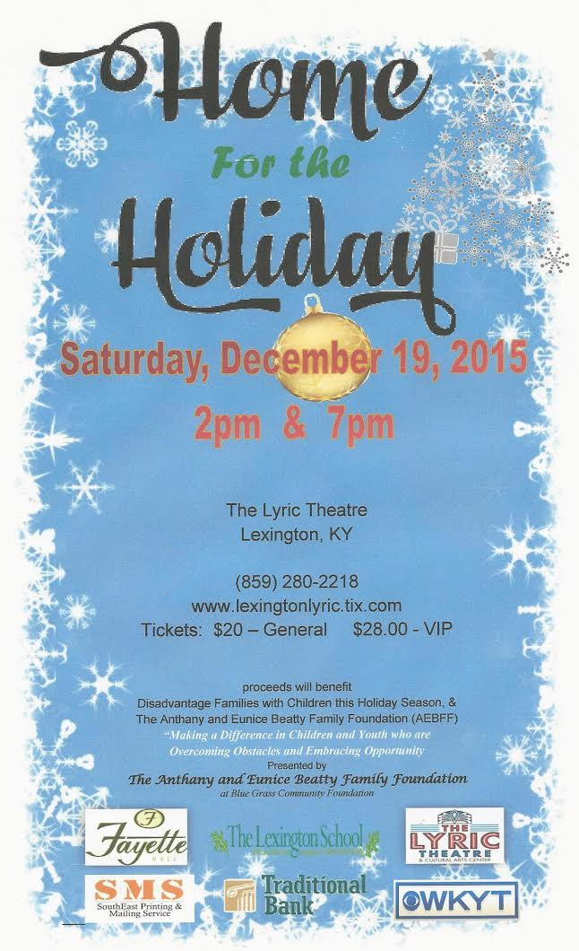 Lyric theatre and cultural arts center back for a second holiday season at the lyric theatre home for the holiday is a family friendly theatrical musical stage production stopboris Images